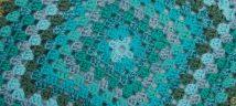 blue textile 2
