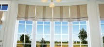 roman blinds window