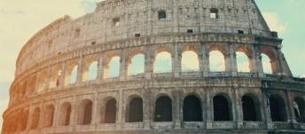 Italy Rome Colliseum