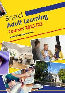 Bristol Adult Learning 2021-22 Course Guide Portrait