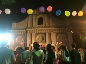 Mid-autumn celebrations outside the Catholic Church