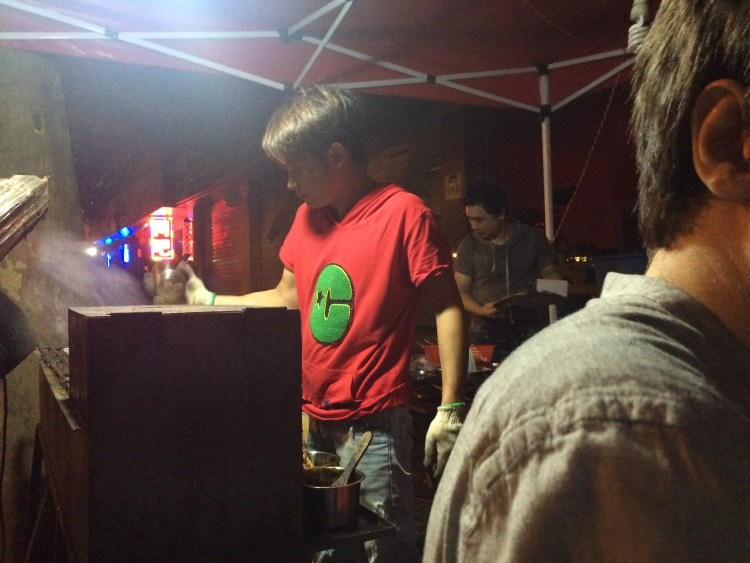 Late at night, you'll see BBQ on the streets, with all the locals sat outside drinking beer. These places are great.