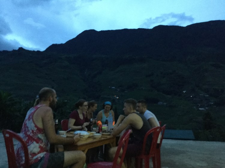 Evenings were spent having a home cooked dinner with other travellers