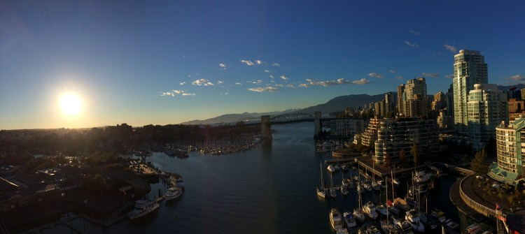 The first stop was Vancouver. A blend of city and nature, it was stunning.