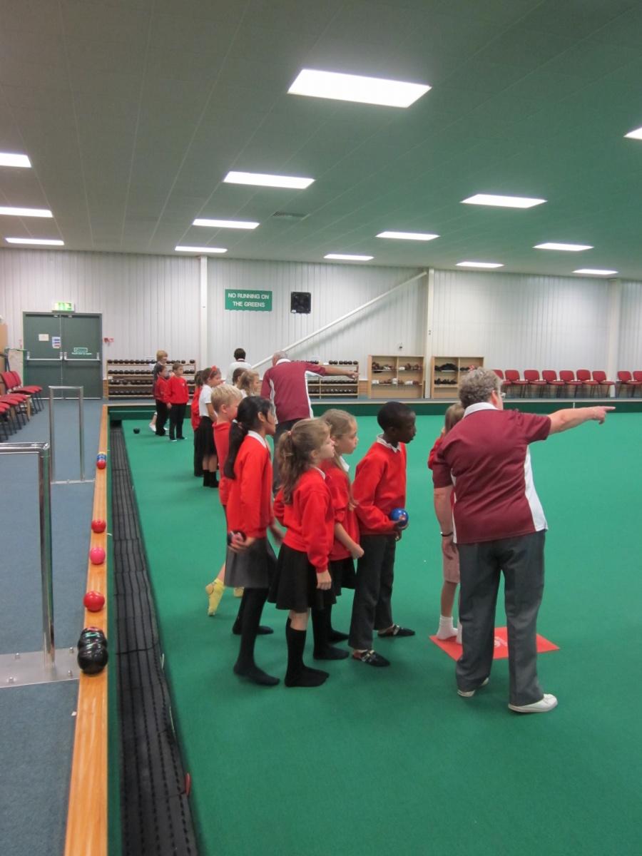 School Visits Bristol Indoor Bowls Club