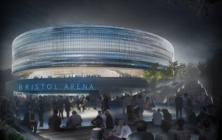 Bristol Arena by night - Populous