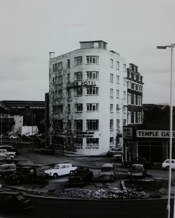 The Grosvenor hotel in the 1960s