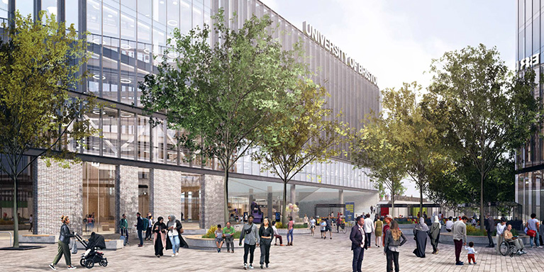 Proposed Temple Quarter Enterprise Campus © University of Bristol
