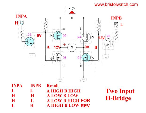 H Bridge Inverter Circuit Diagram | Mosfet H Bridge Circuit Diagram Electrical Wiring Diagrams