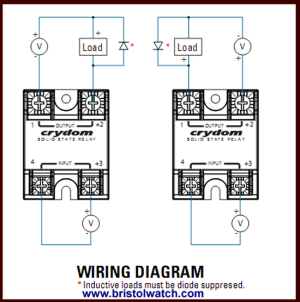 Crydom Solid State Relay Wiring Diagram  Somurich