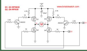 MOSFET HBridge for Arduino 2