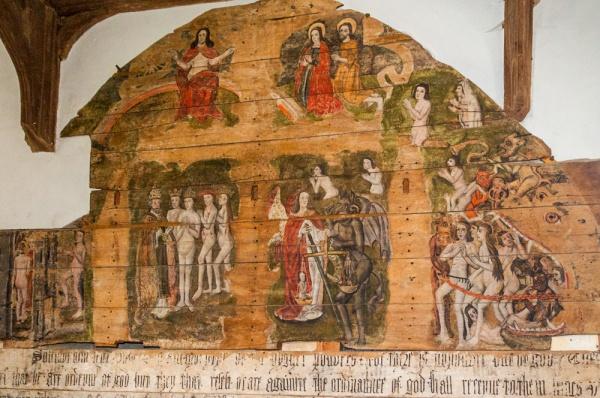 Wenhaston, Suffolk, St Peter's Church | history & Photos