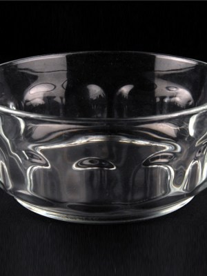GLASS SALAD BOWL 6""