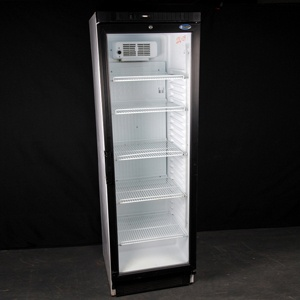 GLASS DOOR FULL HEIGHT FRIDGE HIRE 15 cu ft