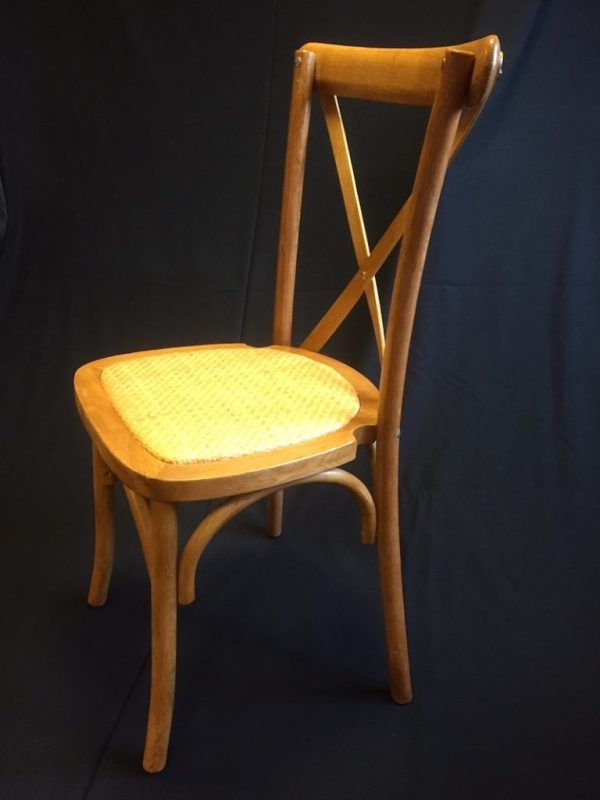 cross back chair hire 5