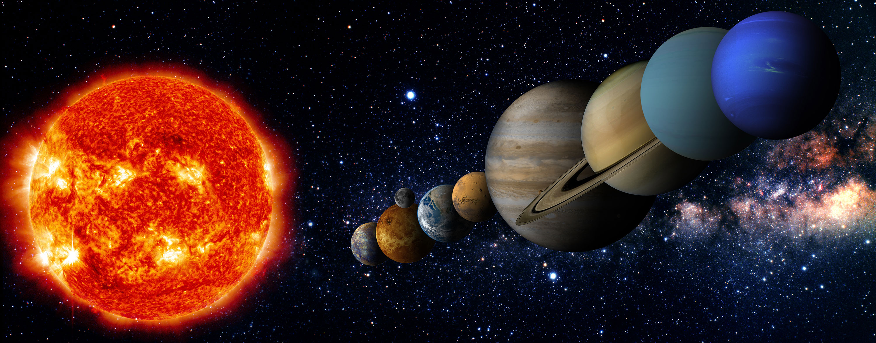 Composition Of The Solar System