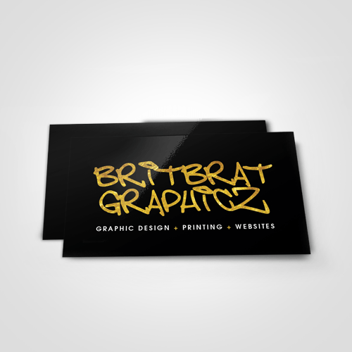 mini flyers britbrat graphicz