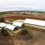 Agriculture fabric structures