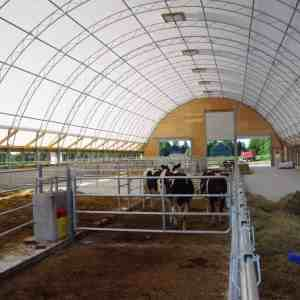 Dairy Barn with Eave