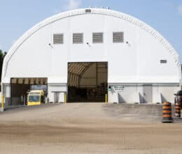 Recycling Buildings and Sorting Facilities, Fabric Buildings, Engineered Buildings