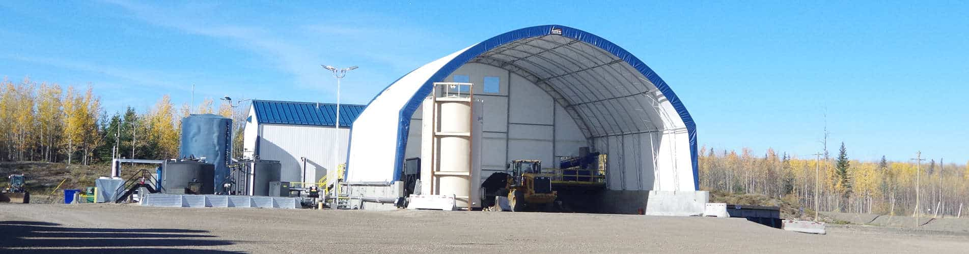 Prefabricated Storage Building used for exploration stations or mining buildings