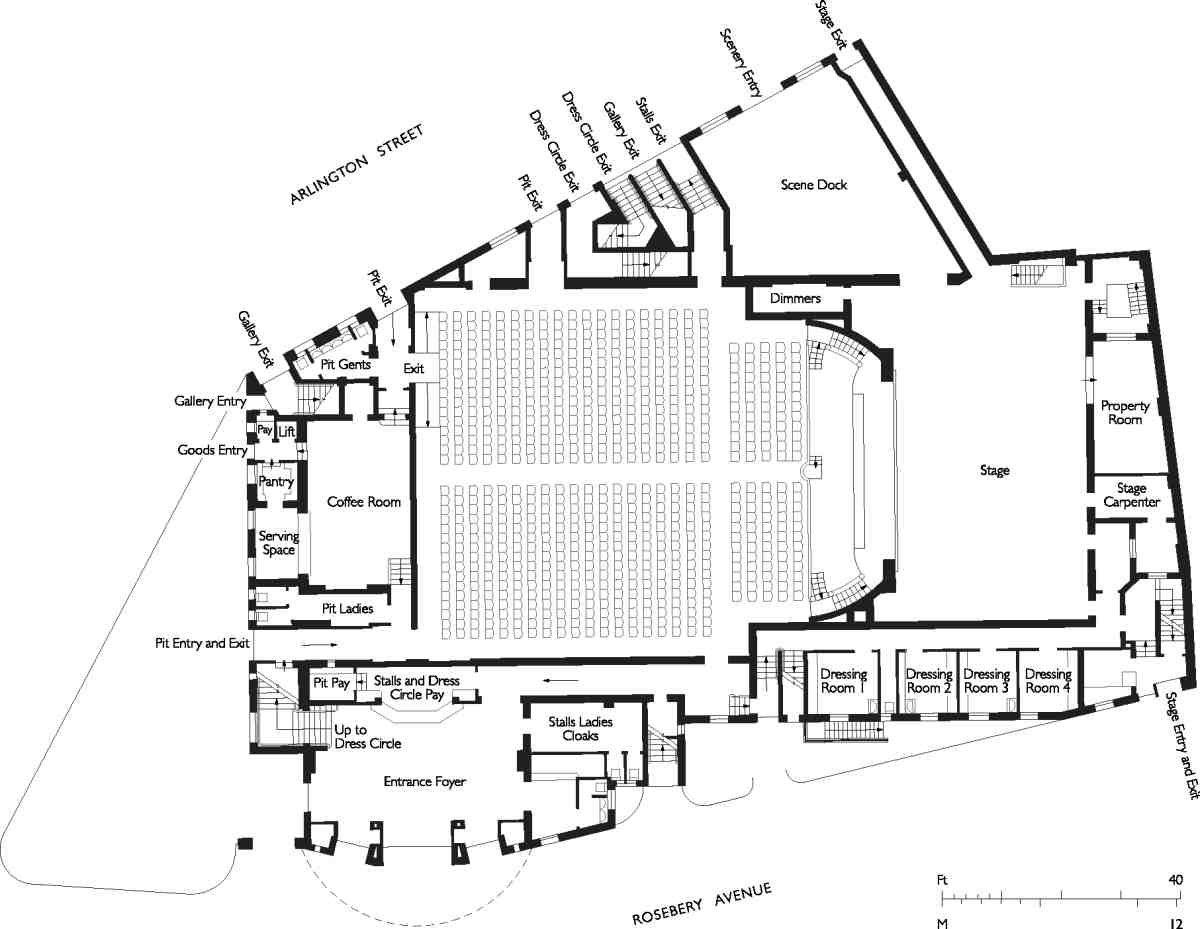 Home Theatre Seating Diagrams