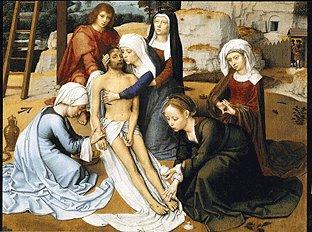 Jesus Christ descente de croix