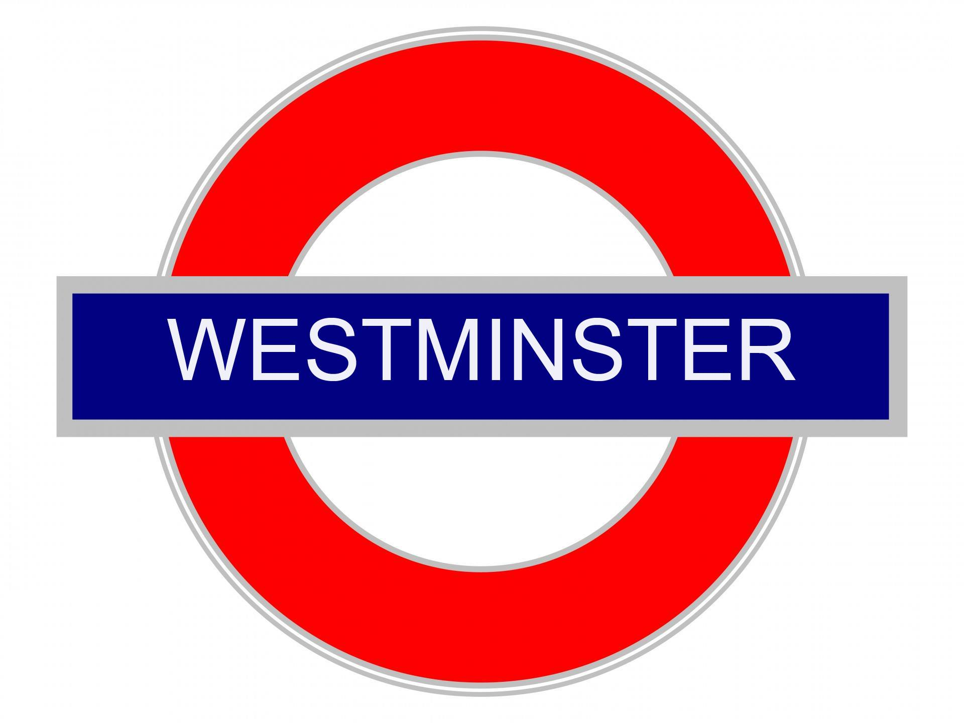 Westminster Undergound Sign
