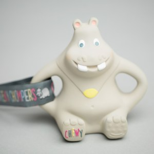Chewy the Hippo Teether® by Cheeky Chompers