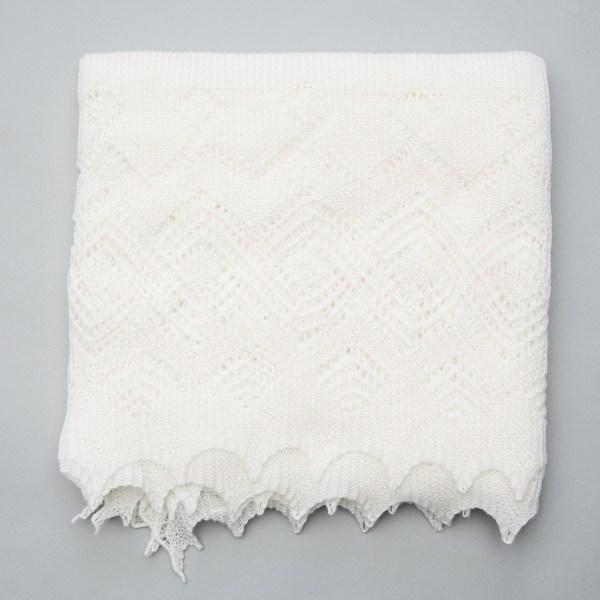 Super-fine Merino wool shawl by G.H.Hurt & Son