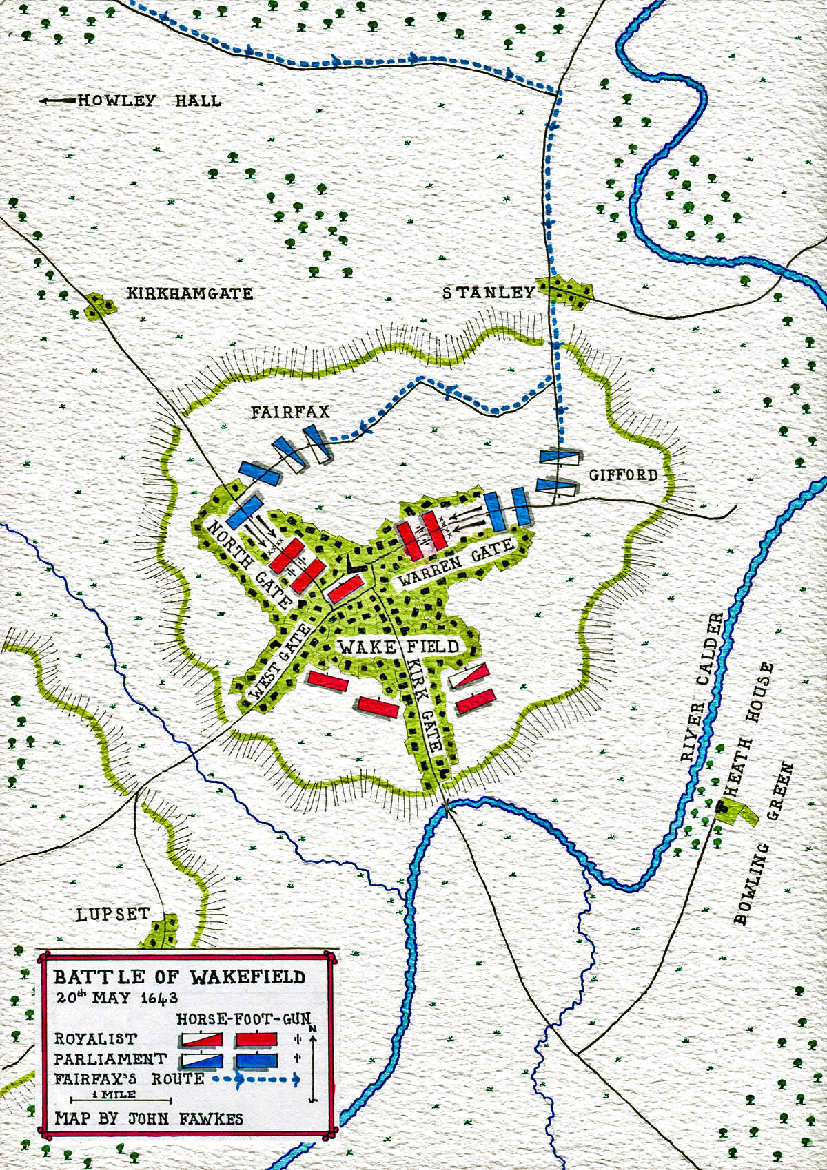 Battle Of Wakefield 20th May