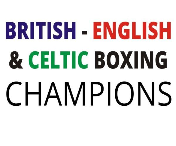 british english celtic boxing champions