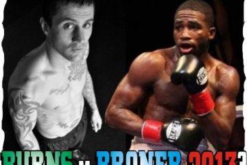 Ricky Burns v Adrien Broner