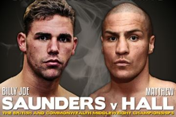 billy joe saunders v Matthew Hall