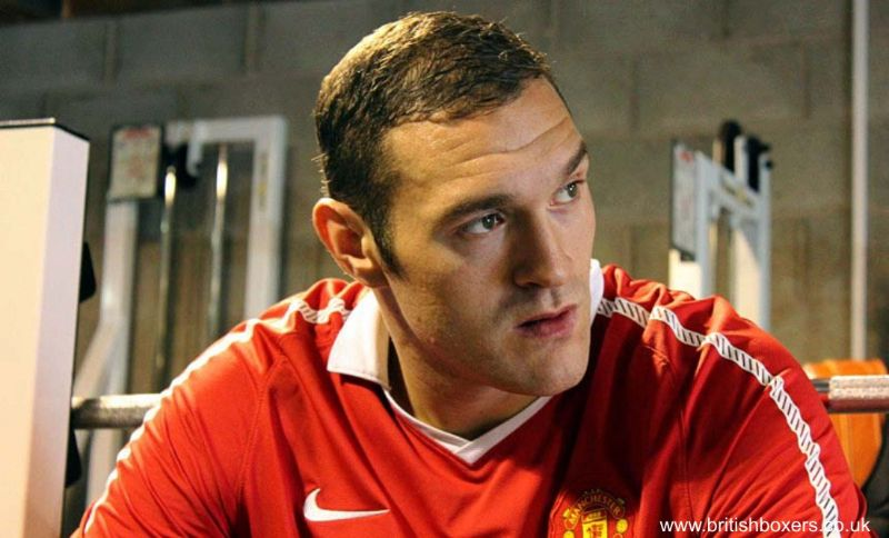 tyson fury interview manchester united