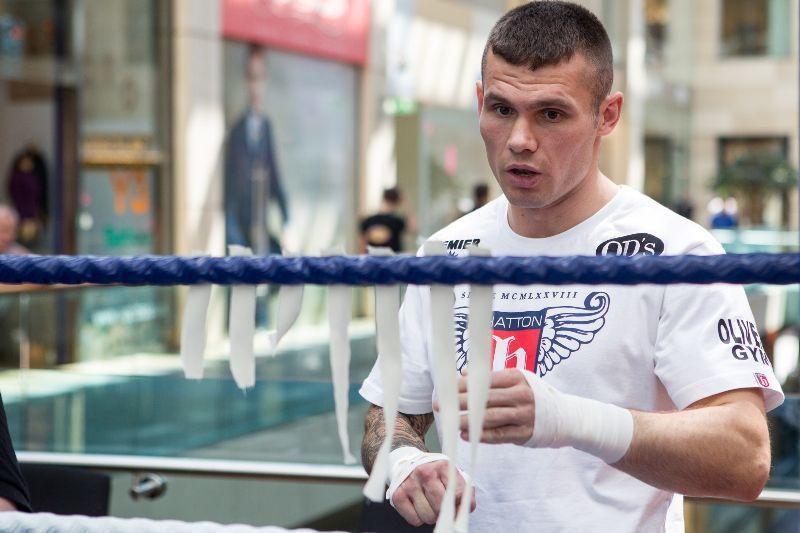 Martin Murray boxing