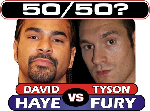 haye vs fury 50 50
