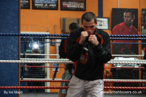 scott quigg shadow boxing
