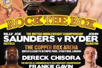 copperbox_boxing poster