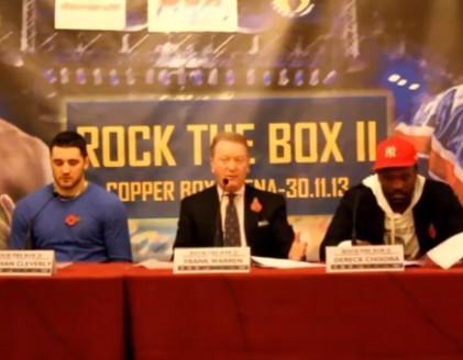 rock the box presser