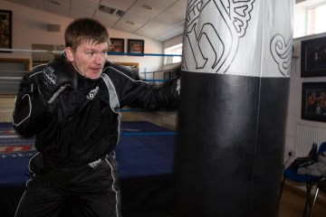 Ricky Hatton Training @ Gym