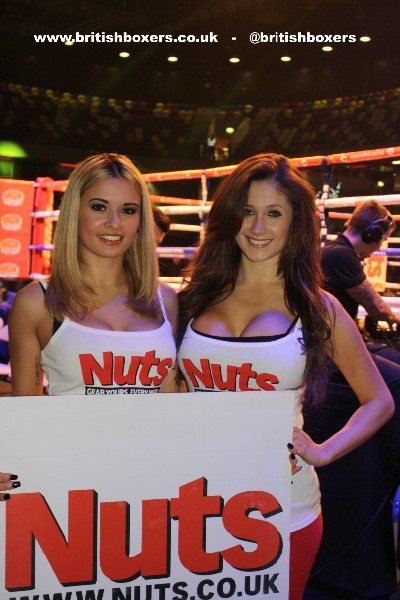 ring girls at the copper box