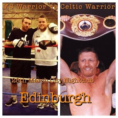 MS, Reilly will face Steve Collins in a charity exhibition match in Edinburgh on March 28