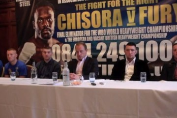 press conference undercard chisora fury