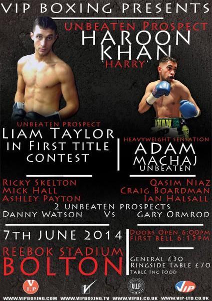 vip boxing show haroon khan