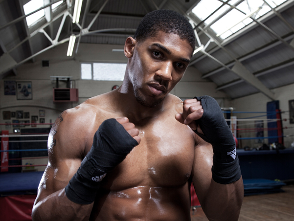 anthony joshua website