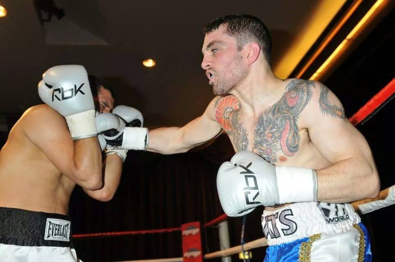 Andy Gatenby boxing