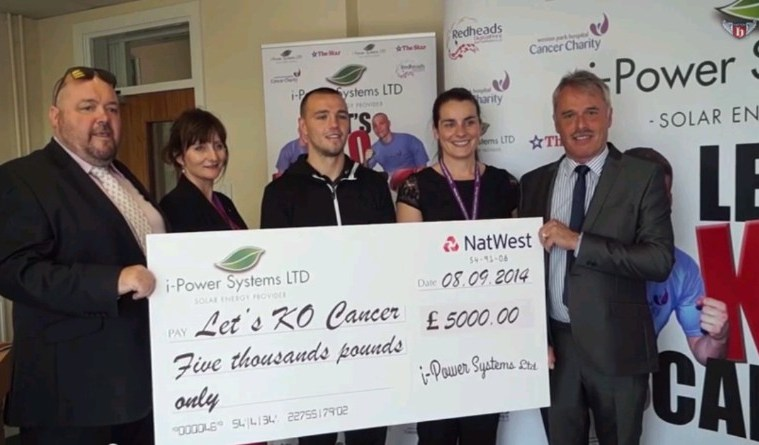adam etches scott jenkins cancer charity patrons boxers