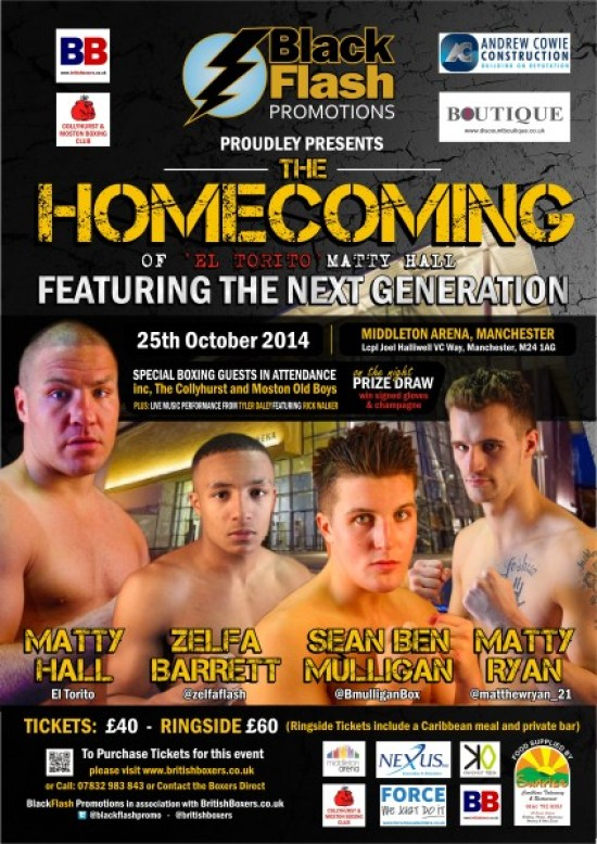 black flash promotions poster