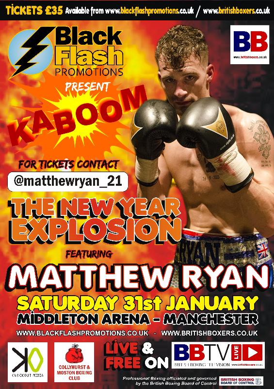 Matty Ryan Fight Poster